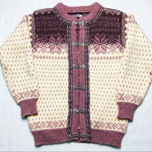 Dale of Norway Vintage Setesdal Cardigan Sweater